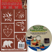 Wild Animal Over 'N' Over Reusable Stencils + Free How to Etch CD & Patterns