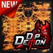 Dip Wizard- Dip Demon Orange Flames Hydrographic Film Water Transfer Hydro Dipping