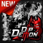 Dip Wizard- Dip Demon Transparent Flames Hydrographic Film Water-Transfer Hydro Dipping