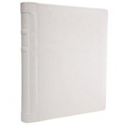 Ivory Wedding Bound Album, Front Padded Self Adhesive, Holds 20 4x6 Photos