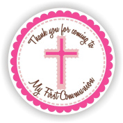 Communion Stickers - Girl Communion Stickers - Communion Favour Labels - Set of 40 Stickers