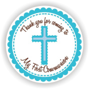 Communion Stickers - Boy Communion Stickers - Communion Favour Labels - Set of 40 Stickers