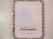 Recollections *Holly* Border Stationery Paper 50 Pieces 8.5x11