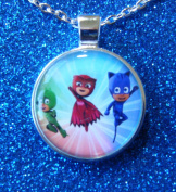 1 PJ Masks Bezel Pendant Necklace #15