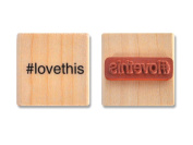 Cosmo Cricket Wood Stamp #love this