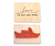 Cosmo Cricket Wood Stamp All You Need