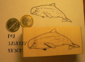 P92 Whale rubber stamp