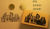 P92 Wizard of Oz rubber stamp
