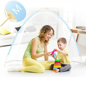 One touch mosquito net size [M] cockroach centipede with bottom network also safe Foldable Mosquito Net Japanese with papers describe