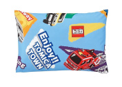 Nishikawa Living Kids pillow case Tomica 01 Blue