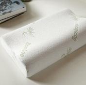 Special Design 100% Bamboo Fibre Slow Rebound Memory Foam Pillow Neck Cervical Healthcare Pillows