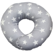 ESMERALDA (Esmeralda) donut pillow Galaxy grey Japanese-made handmade one by one baby head of the form will be better [round]