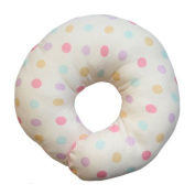 ESMERALDA (Esmeralda) donut pillow Natural Rainbow Japanese-made handmade one by one baby head of the form will be better [round]