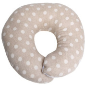 ESMERALDA (Esmeralda) one by one made donut pillow grey Jeu dot Japan handmade baby head of the form will be better [round]