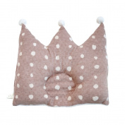 Naomiitou NAOMI ITO POCHO organic crown pillow cocoa 7579