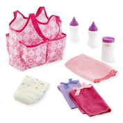 You & Me Baby Doll Nappy Tote Bag with Accessories