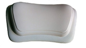 Luxury Firm Waterproof Leather Textured Spa Bath Pillow with Suction Cups
