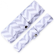 Nappy Changing Pad & Mat Set - Waterproof, Wipeable & Washable -