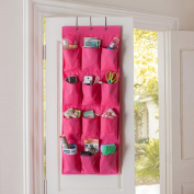 Tune Up 12 Pocket Hanging Door Holder Storage Organiser Closet Shoe Hanger Organiser Box