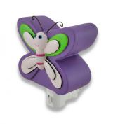 KMP Kids Night Light Purple Butterfly