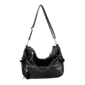 Tenworld Fashion Women Girl Large Shoulder Tote PU Leather Messenger Handbag Hot