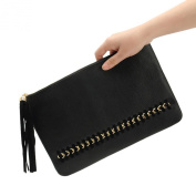 Tenworld Fashion Women Girl Clutch PU Leather Evening Party Satchel Handbag Hot