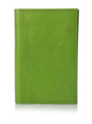 GRAPHIC IMAGE Women's Leather Card Case, Lime