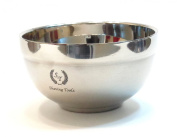 Shaving Toolz Medium Double Wall Stainless Steel Bowl