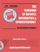 Yearbook of Experts -- 2016