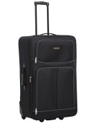 Horizon Essenziale 2-Wheel Trolley Case, 71cm, Black