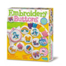 4M Embroidery Buttons
