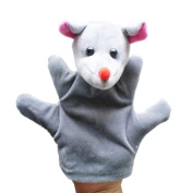 Gotd Baby Child Cute Mouse Zoo Farm Animal Hand Glove Puppet Finger Sack Plush Toy