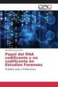 Papel del RNA Codificante y No Codificante En Estudios Forenses [Spanish]