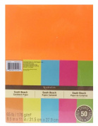 Recollections Cardstock Paper - Neon - South Beach Assorted Colours- 8.5 X 11
