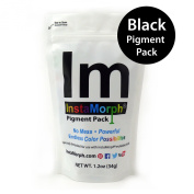 "InstaMorph - Moldable Plastic - ""Black Only"" Pigment Pack"