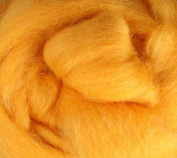Corriedale Wool Roving One Ounce Yellow, Orange, Green Colours for Felting and Spinning
