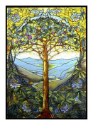 Tree of Life by Louis Comfort Tiffany Counted Cross Stitch Pattern