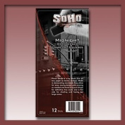SoHo Compressed Charcoal 12-Pack - Midnight Black