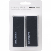 Kaisercraft Sanding Block (2 Pack), 8.9cm by 3.8cm by 2.5cm