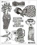Ranger Sheep Dyan Reaveley's Dylusions Cling Stamp Collections, 22cm by 18cm , Black