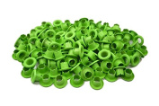 "150pcs 4mm 5/32"" GREEN Round Eyelet Scrapbooking CARD Hole Craft E080"