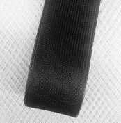 Stiff Polyester Black Horsehair Braid, Selling Per Roll