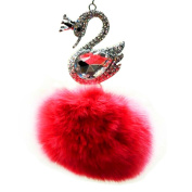 Kangkang @ Elegant Decorations, Art Charm, Car Pendants (Swan Blessing), Hang Act the Role Ofing Is Tasted Crystal Pendant Lovely Car Interior Decoration