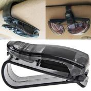 Gotd Car Holder Sun Visor Glasses Sunglasses Ticket Receipt Card Clip Storage Holder Home Tools