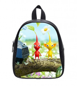Pikmin 3 Custom Kids School High-Grade PU Leather Backpack