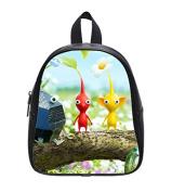 Pikmin 3 Custom Kids School High-Grade PU Leather Backpack
