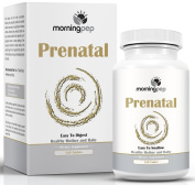 Prenatal Vitamin 120 Count With Probiotics And Folic Acid To Aid Morning Sickness And Nausea, One A Day Easy To Swallow Tablet With A Superior Blend Of Enzymes For Expecting And Nursing Mothers