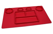 Double Dipper Mat (Red)