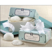Beach Theme Seashell Scented Soaps for Wedding Soap Favours and Gifts or Baby Shower Soap Favours