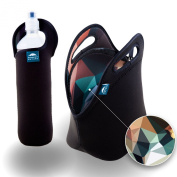 Insulated Neoprene Lunch Set